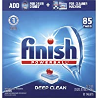 Deals on 170Ct Finish All in 1 Dishwasher Detergent Powerball Dish Tabs