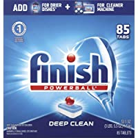 85-Count Finish All-in-1 Dishwasher Detergent Tablets