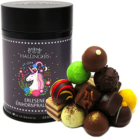 Hallingers Pralinen Selection Unicorn Einhorn Saisonaler Mix Z B