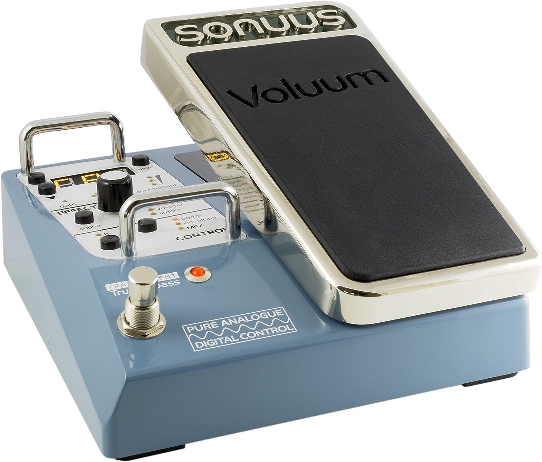 Sonuus Voluum - Pedal para guitarra y bajo (base de volumen)