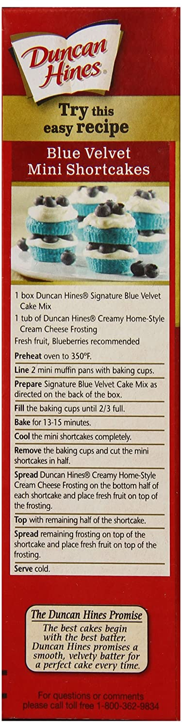 Amazon.com : Duncan Hines Cupcake Mix, Confetti, 8.5 Ounce (Pack of 12) : Cake Mixes : Grocery & Gourmet Food