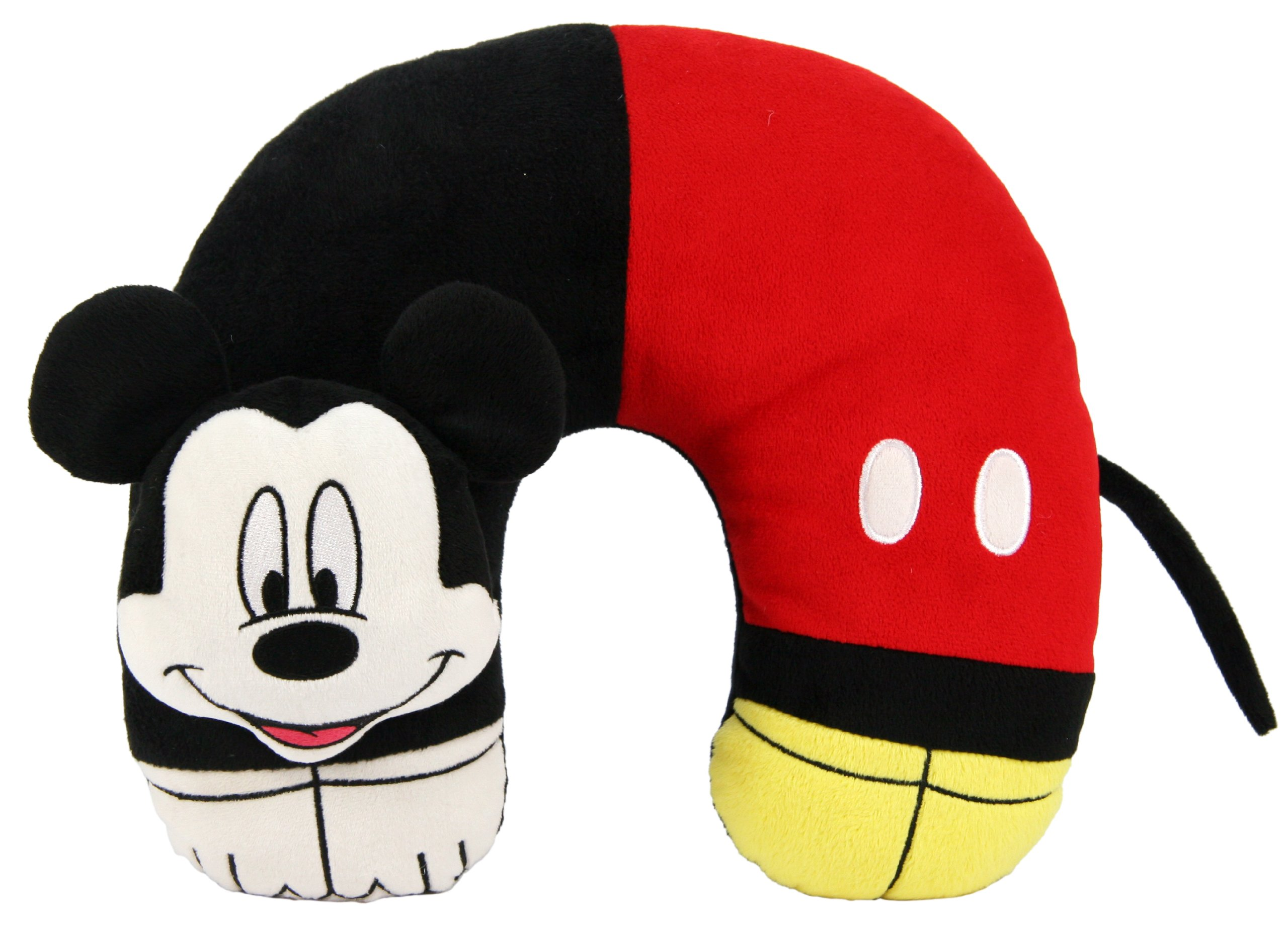 Disney Mickey Mouse 3D Character Travel Pillow 11'' X 12''