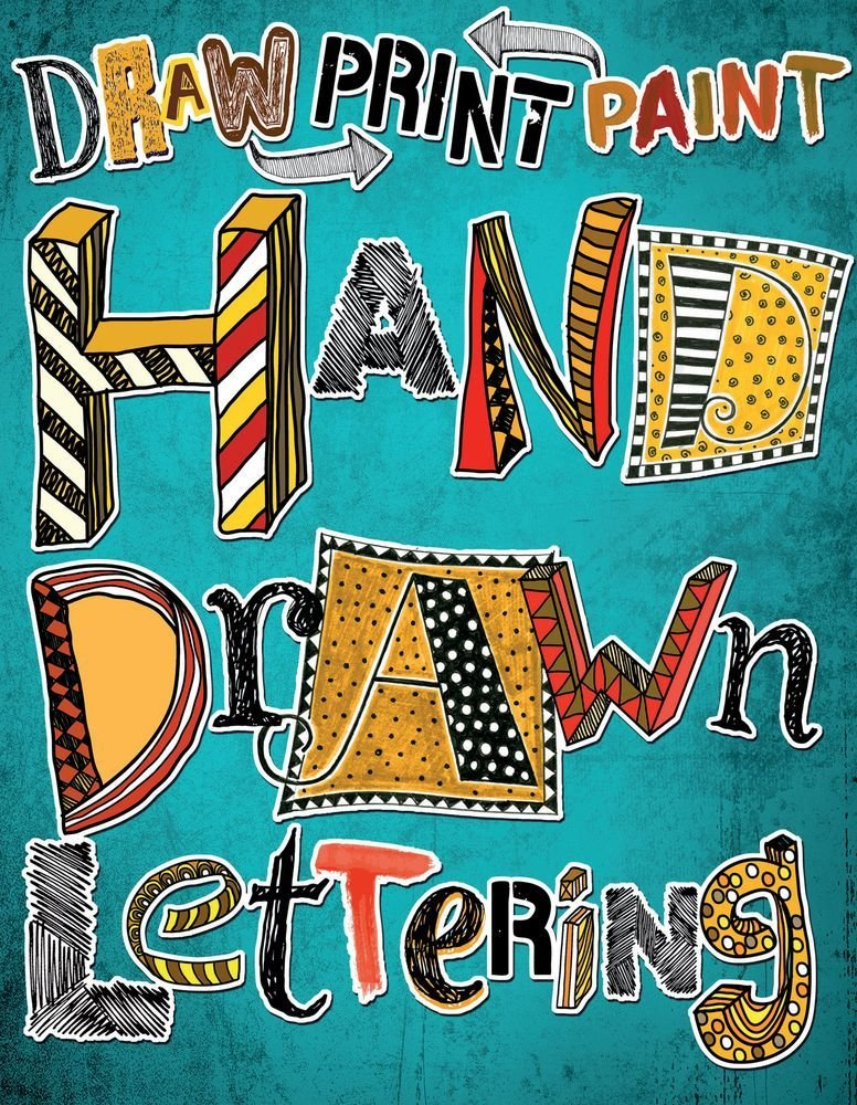 Hand Drawn Lettering Draw Paint Print Max Marlborough