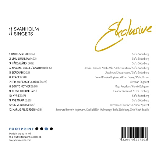 Exclusive: Bruun / Svanholm Singers: Amazon.es: Música