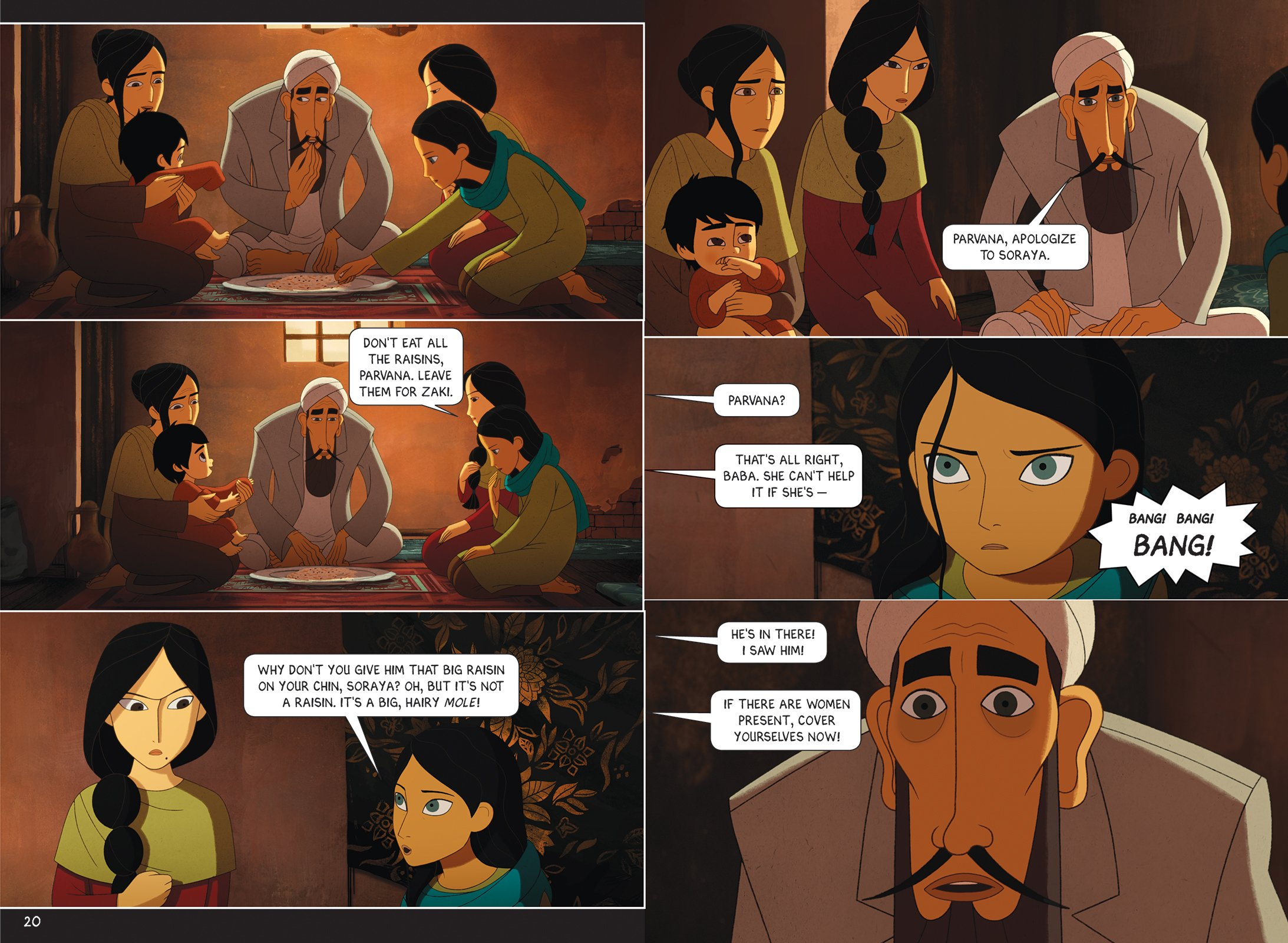The Breadwinner: A Graphic Novel: Cartoon Saloon and