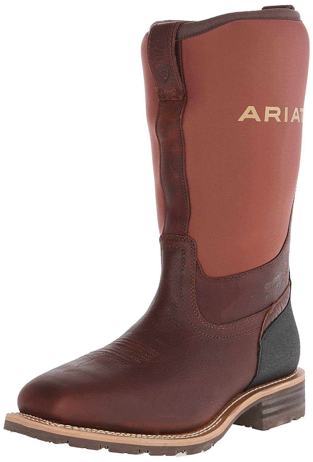 Ariat メンズ Oiled Brown/Brown Neoprene 10 2E US 10 2E USOiled Brown/Brown Neoprene B00IMPHE4U