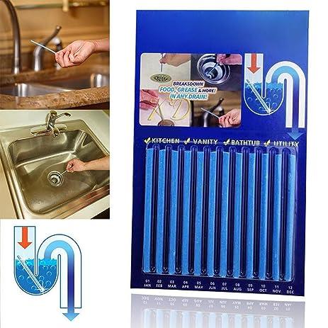Amazoncom Magic Sticks Drain Cleaner And Deodorizer Odor Remover - Stinky pipes bathroom