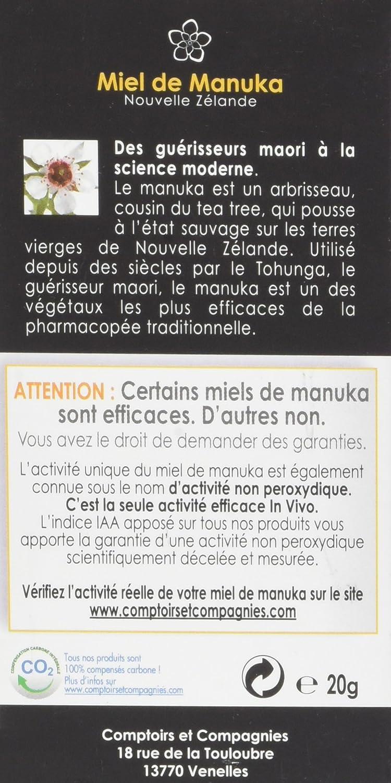 Comptoirs Et Compagnies Iaa10 Pastilles 92 Miel De Manuka8 Jus