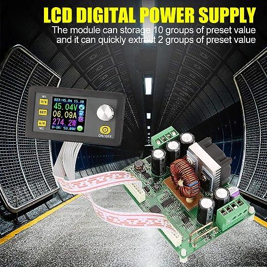 Step Down Converter Dps3012 Dps5015 Dps5020 Einstellbares Power Buck Modul Reguliertes Digitales Lcd Abwärts Netzteil Dps3012 Gewerbe Industrie Wissenschaft