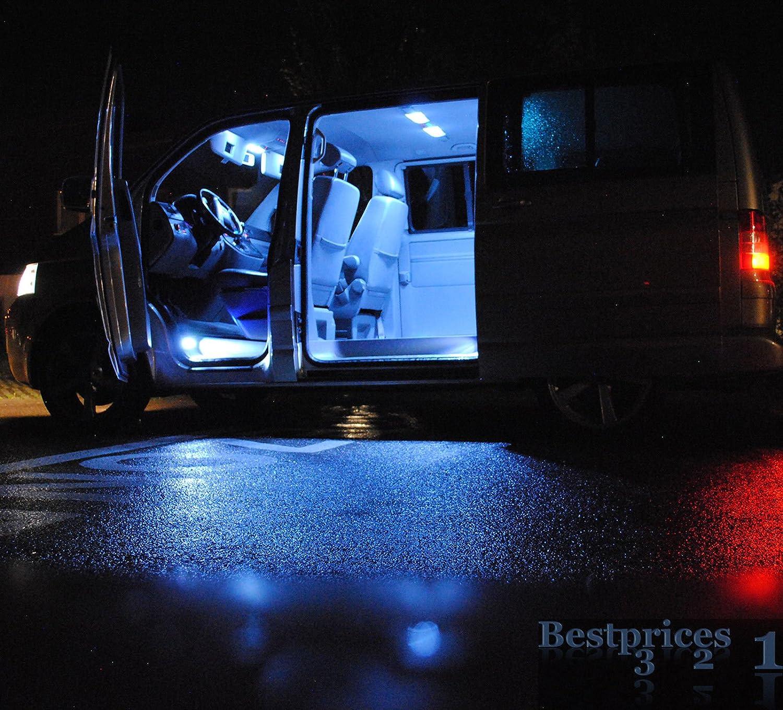 t4 IV Multivan Caravelle – 9 LED SMD – Iluminación interior ...