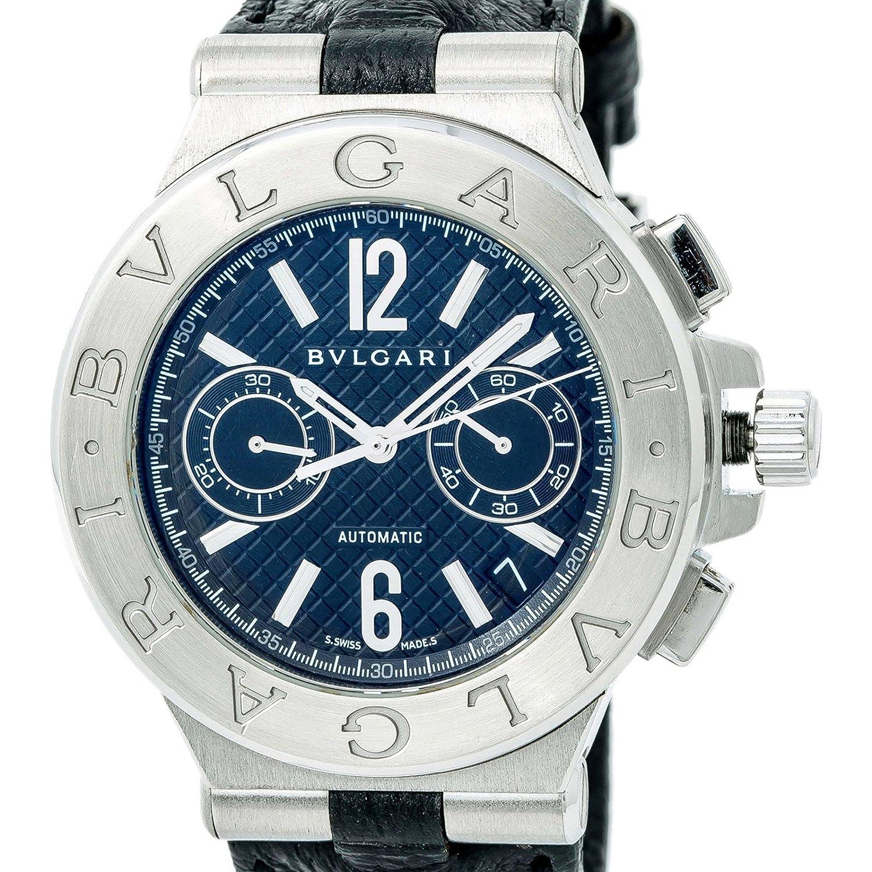 Bvlgari Diagono Swiss-Automatic DG40SCH - Reloj para mujer (certificado de autenticidad): Bvlgari: Amazon.es: Relojes