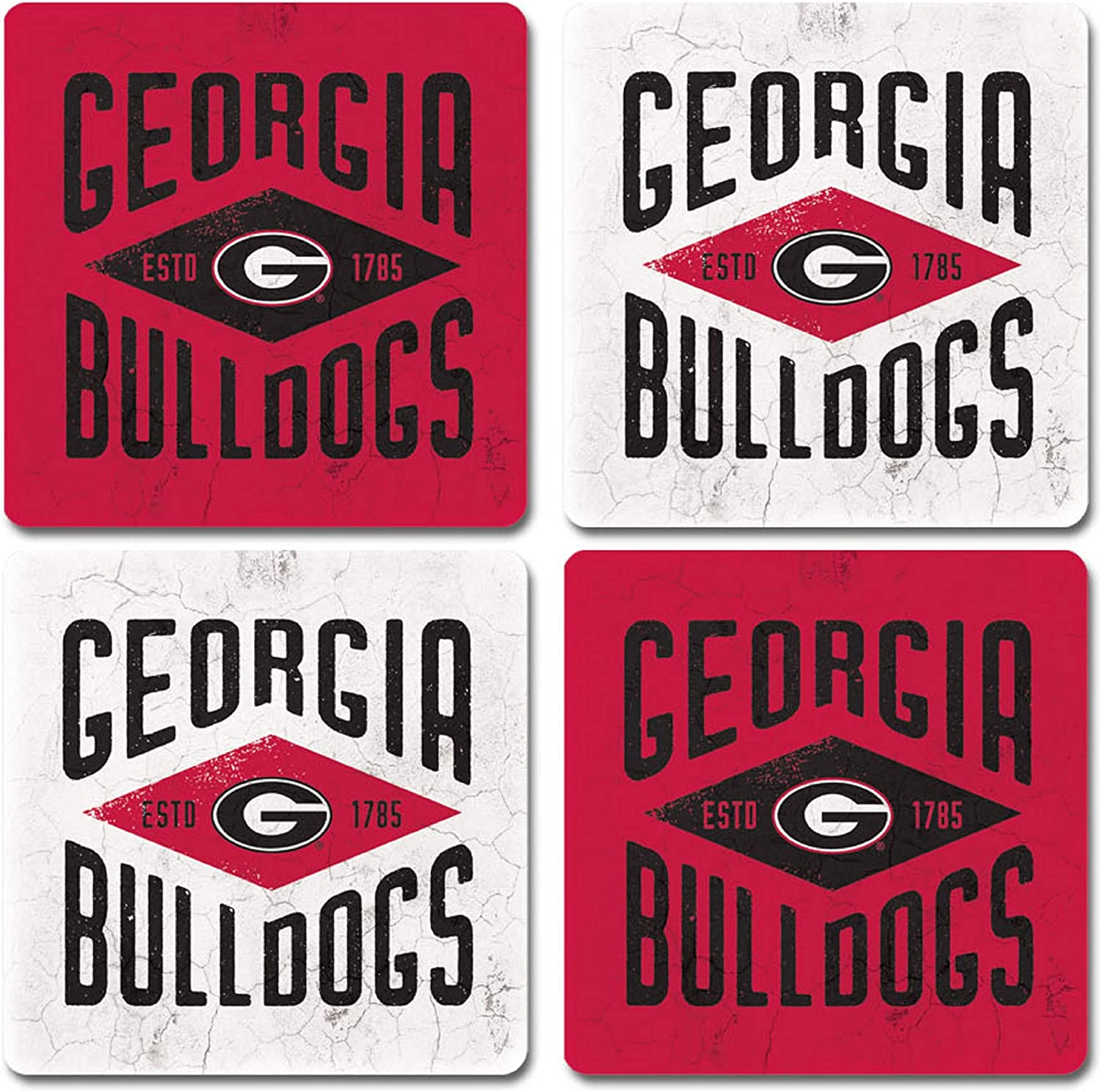 Legacy NCAA Fan Shop Thirsty Coaster 4-Pack