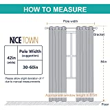 NICETOWN Thermal Insulated Eyelet Top Room