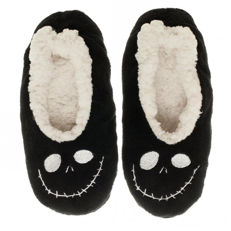 Amazon.com: Nightmare Before Christmas Jack Cozy Adult Slipper Socks ...