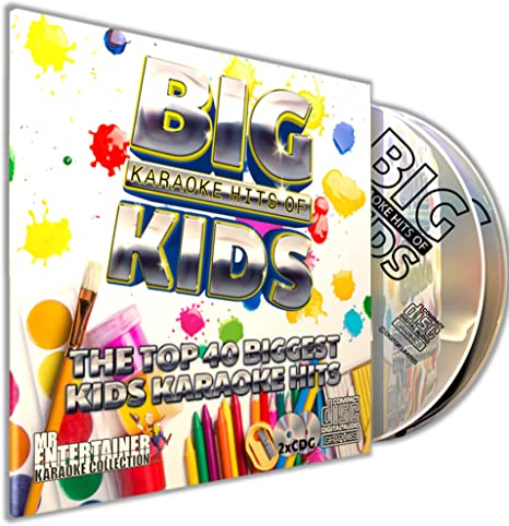 KIDS KARAOKE CD+G (CDG) Pack. Mr Entertainer Karaoke Big Hits. 40 ...
