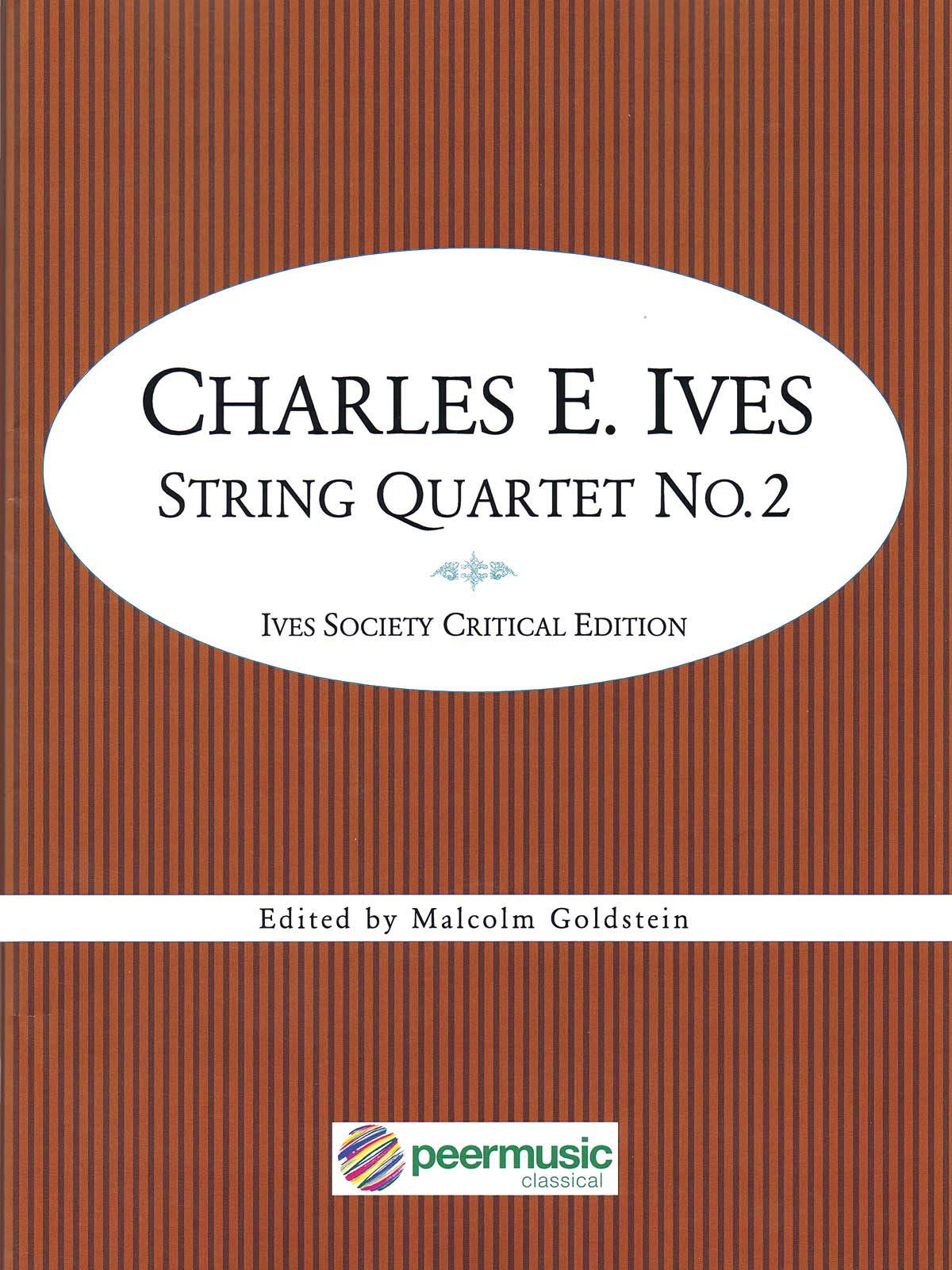 Amazon.com: Ives: String Quartet No. 2: 0888680631758: Charles Ives: Books