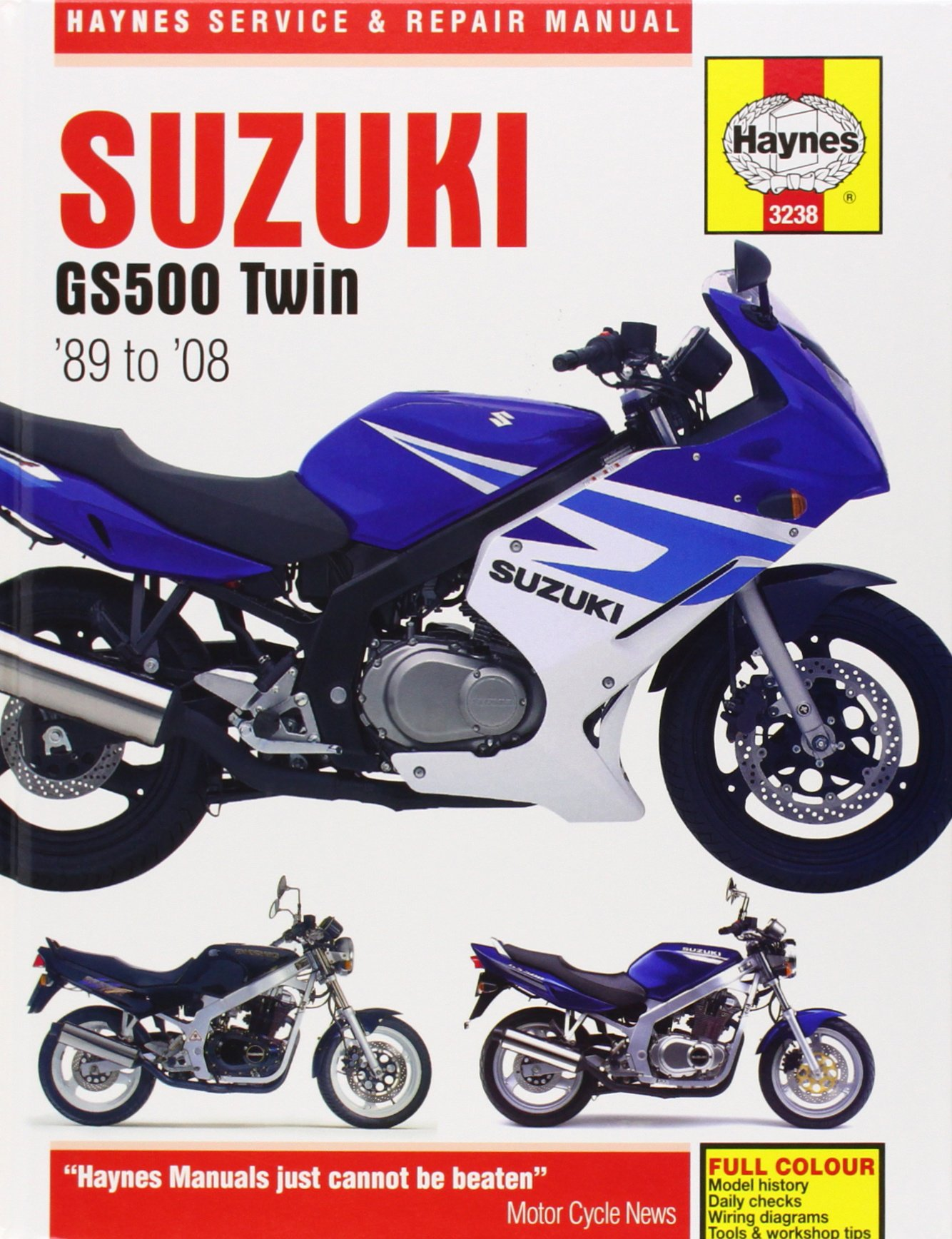 Suzuki GS500 Twin 1989-2008 (Haynes Service & Repair Manual): John Haynes:  9781844258819: Amazon.com: Books