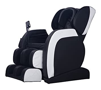 mcombo electric massage chair fullbody shiatsu recliner heat stretched foot