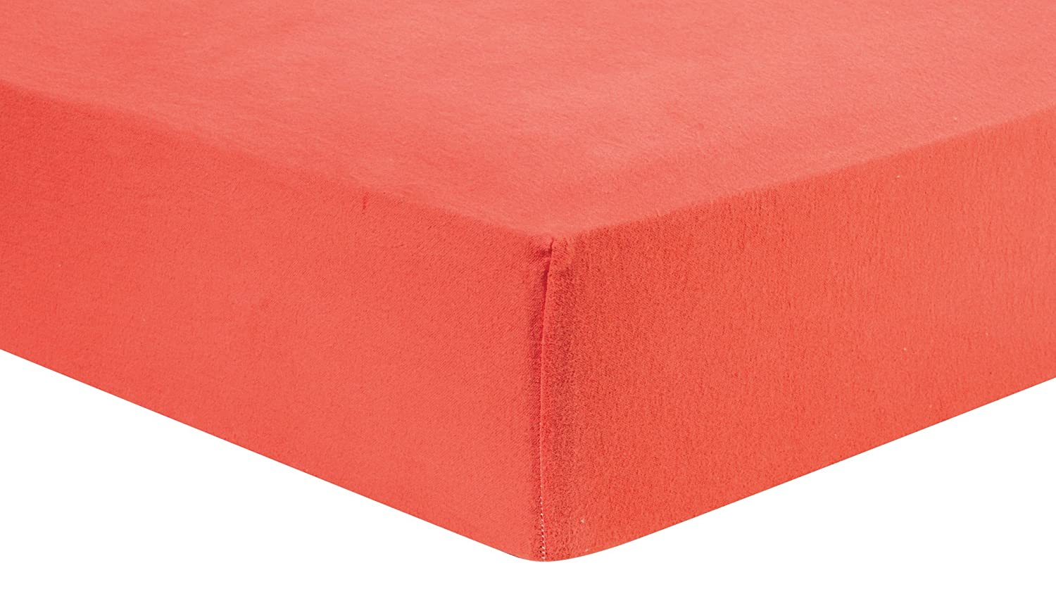Trend Lab Coral Deluxe Flannel Fitted Crib Sheet 101375