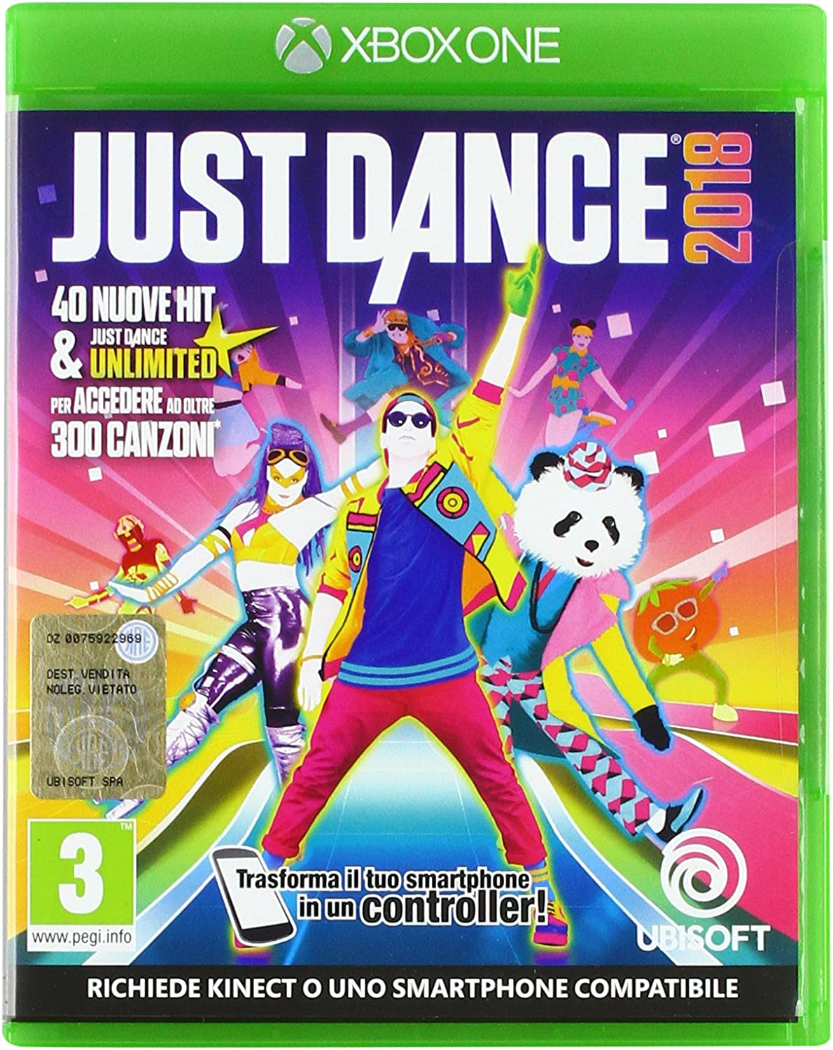 Just Dance 01/01/18: Amazon.es: Videojuegos