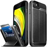 "Vena vCommute Wallet Case Compatible with Apple iPhone SE 2020 / iPhone 8 7 (4.7""-inch), (Military Grade Drop Protection) Fli"