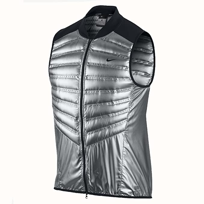 Nike Men s Aeroloft 800 Metallic Running Vest 95701140a