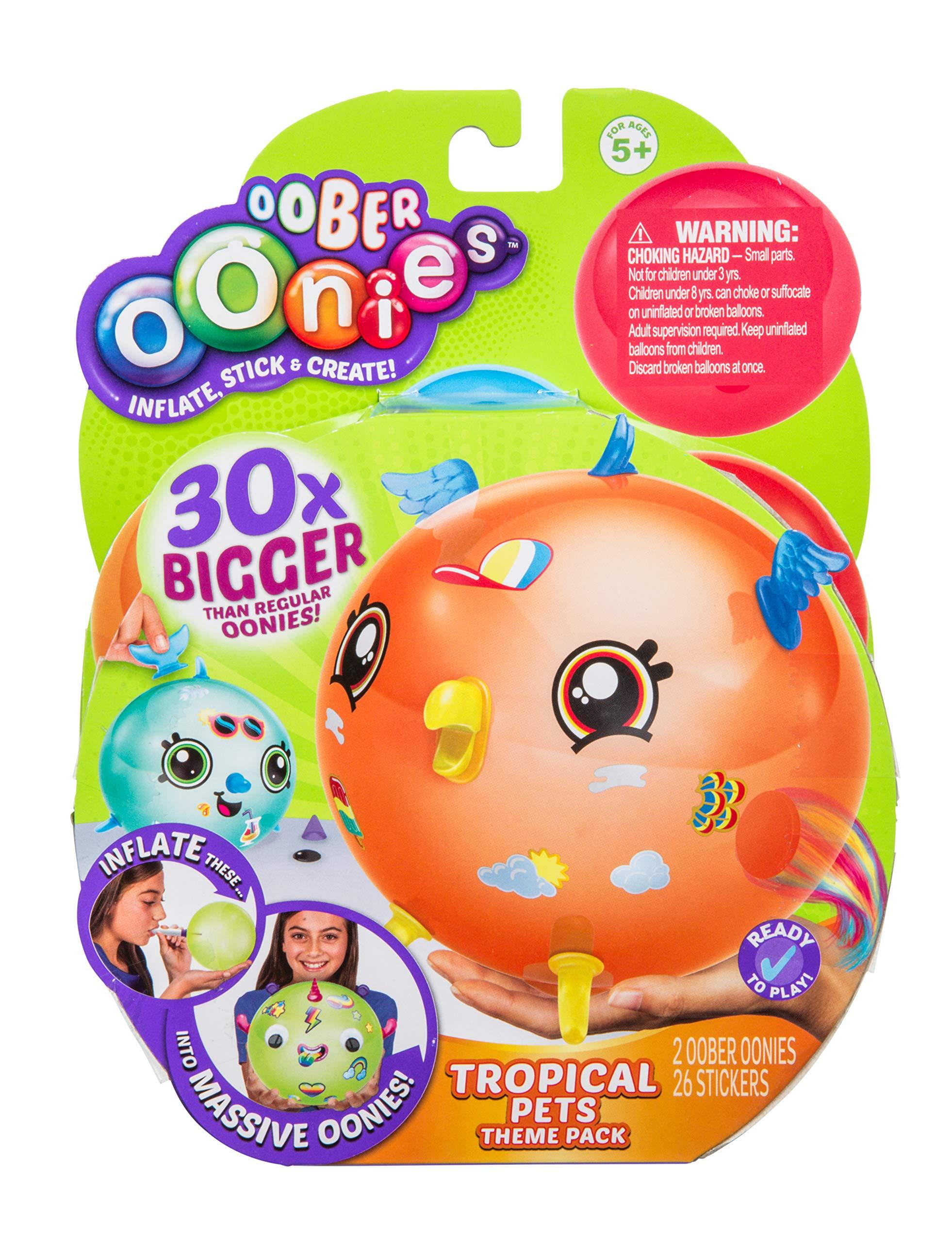 Oonies Oober Theme Pack - Tropical Pets