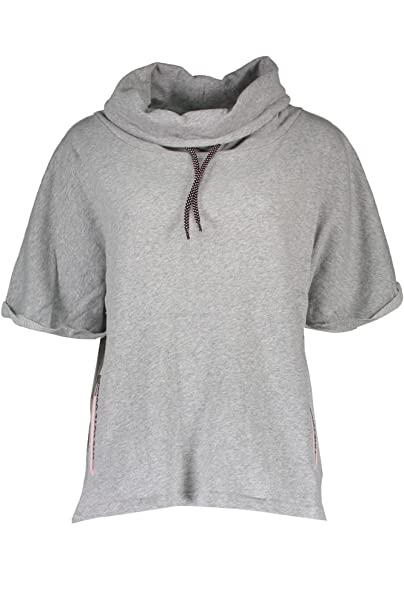 Sudadera Gris M90 Mujer Guess Jeans O74a26fl00m L Cremallera Sin 7wFHgqE