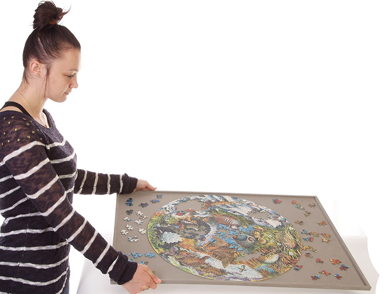Jigsaw puzzle board for up to 1,000 pieces from Jigthings Limited JIG005 Jigthings JIGBOARD 1000