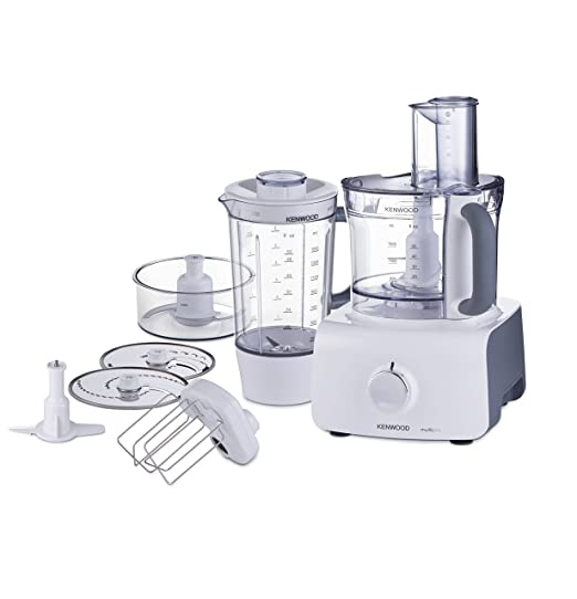 Kenwood FDP603WH - Robot de cocina, 1,5 l, 1000 W, color blanco: Amazon.es: Hogar