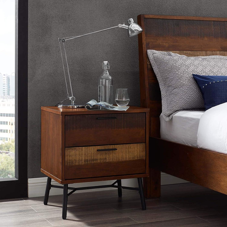 modern wood nightstand
