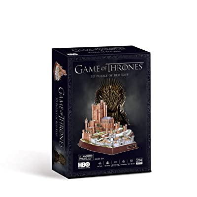 Game of Thrones Red Keep 3D Puzzle: Toys & Games