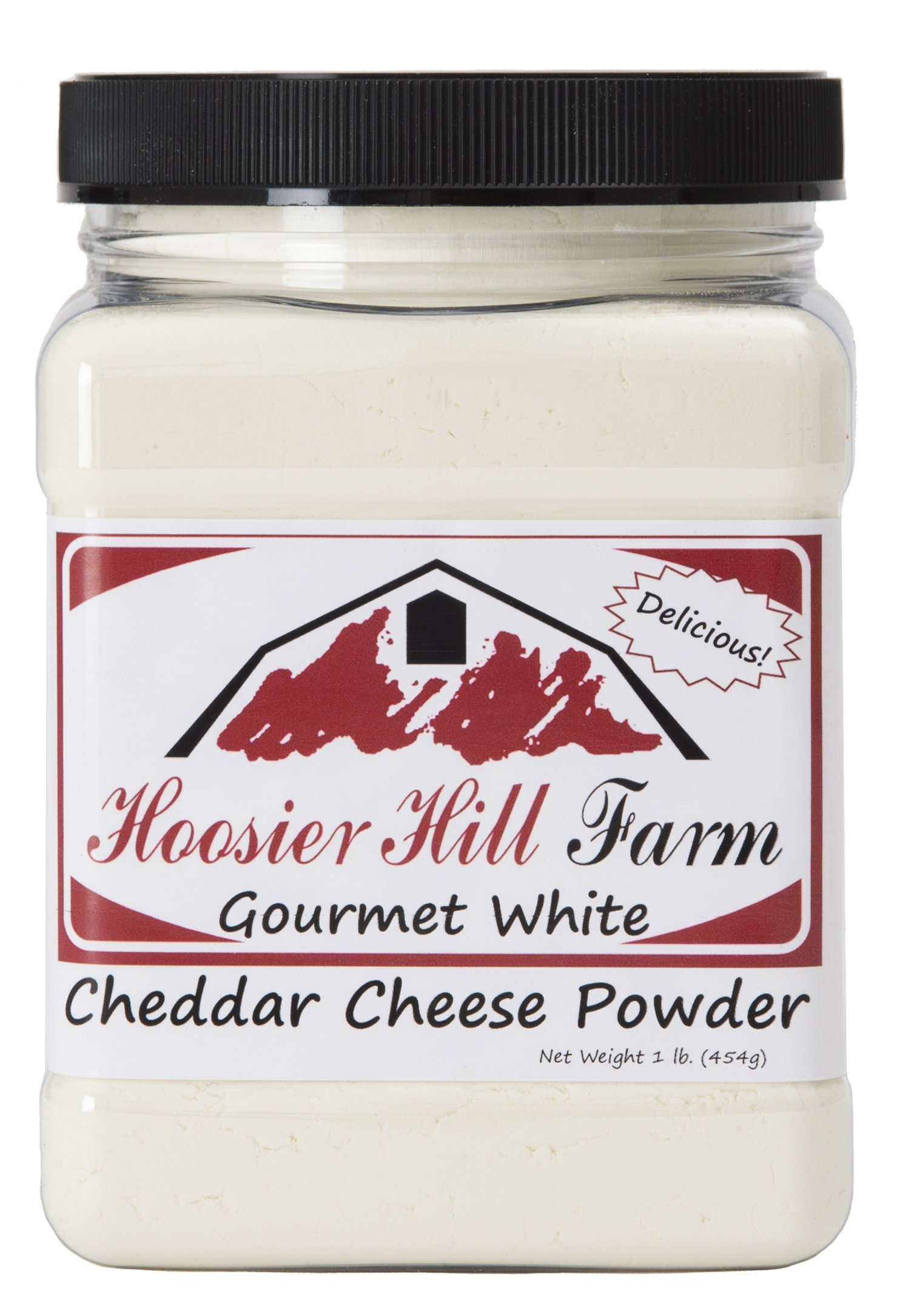 Hoosier Hill Farm White Cheddar Cheese Powder, 1 Pound by Hoosier Hill Farm (Image #1)