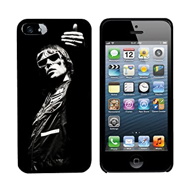 outlet store 50b0d 2ae04 Ian Brown Stone Roses Black iPhone 5 hard cover. This Black iPhone hard  cover clips around your phone to create a cover and is great protection for  ...