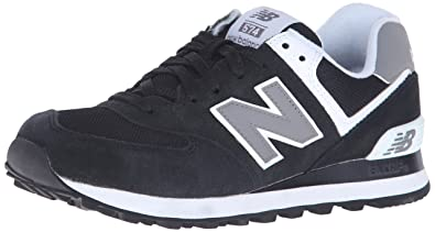 wholesale dealer 01d51 25bf8 New Balance Women s W574 Core Collection Running Shoe, Black White, ...