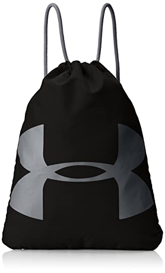 Under Armour Synthetic 14 inches Black Drawstring Gym Bag (1240539 ... c837f8dfc925