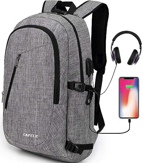 563b43f7656 Amazon.com  Cafele Laptop Backpack