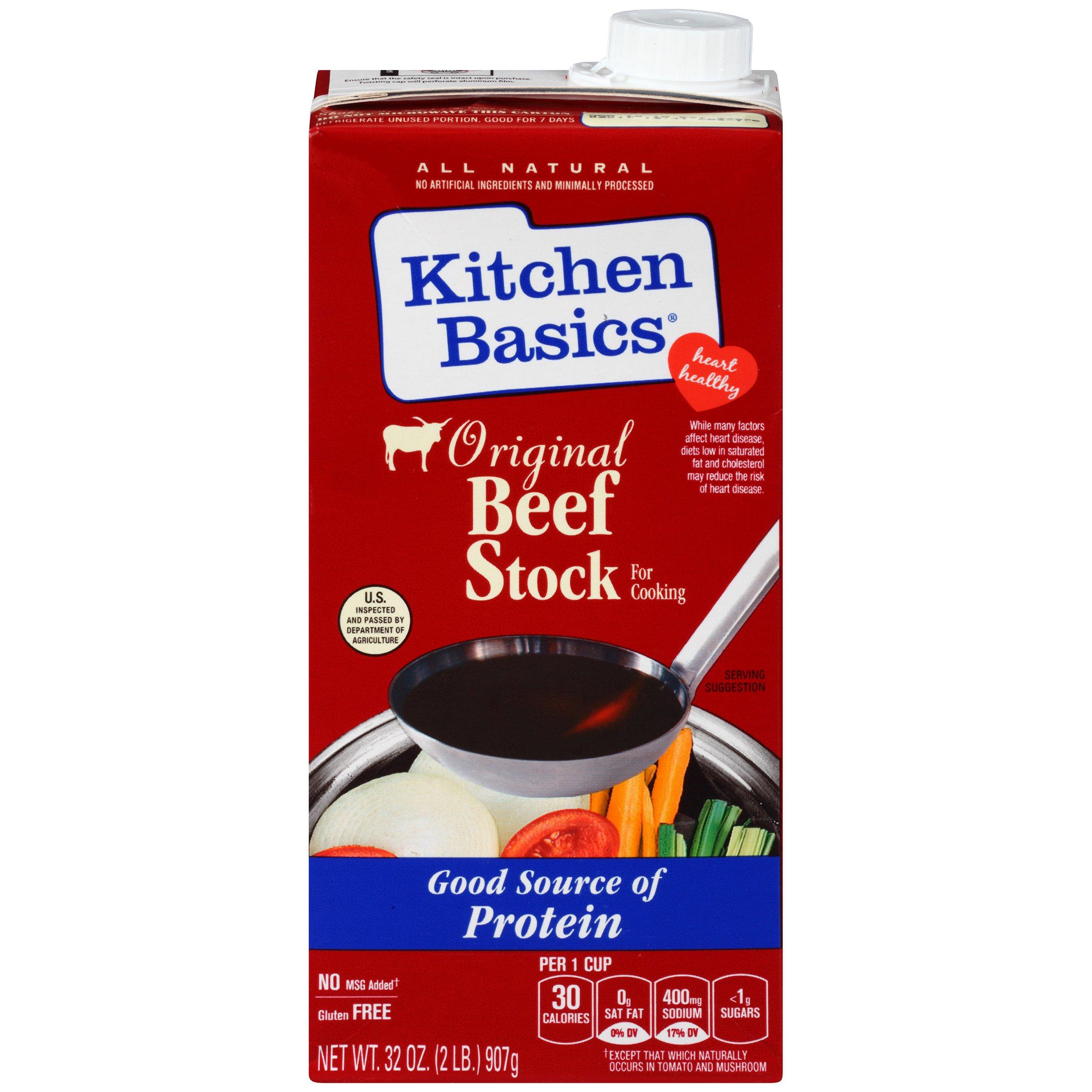 Kitchen Basics: Amazon.com : Kitchen Basics UnSalted Stock, Chicken, 32