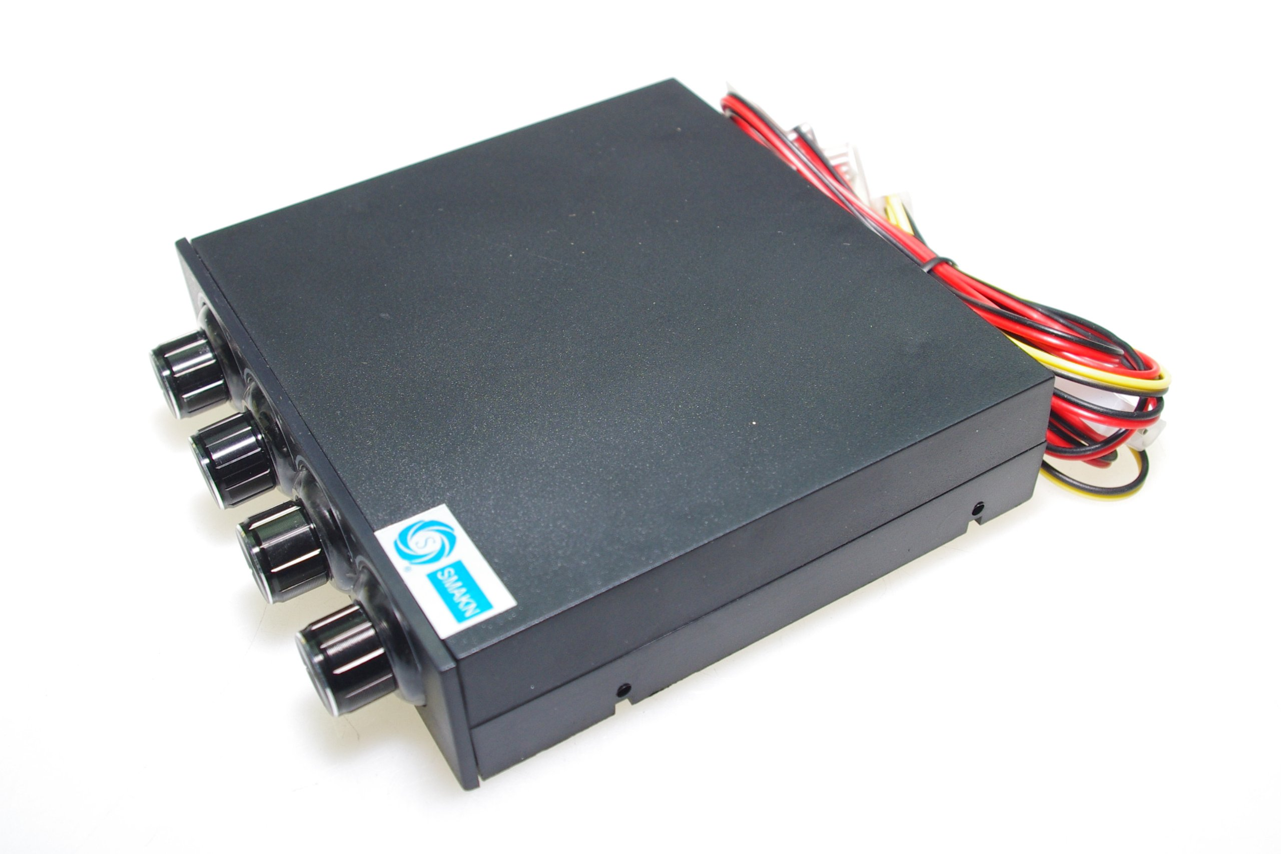 SMAKN® 3.5'' Pc Cpu Hdd 4 Channel Fan Speed Controller Control Led Cooling Front Panel by SMAKN (Image #3)