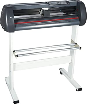 Máquina de copa mesa rollo 375 mm/720 mm/870 mm/1350 mm Vinyl Cutter localizador de copa calentador USB conexión de impresora de corte con ArtCut Software, negro: Amazon.es: Bricolaje y herramientas