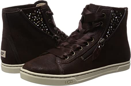 d5c98a3b95b Amazon.com | UGG Women's Blaney Crystals Chocolate Leather Oxford ...