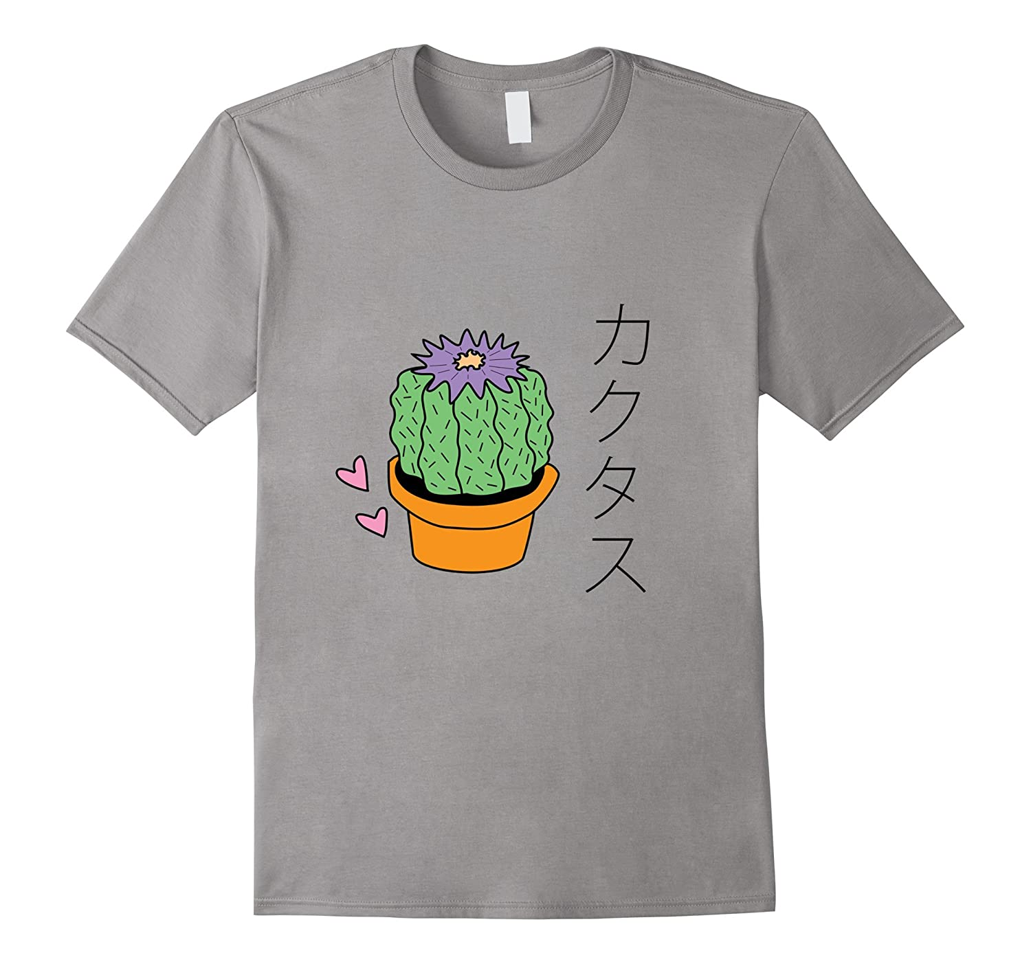 Aesthetic Cacti Lover Plant - Japanese T-Shirt-TH