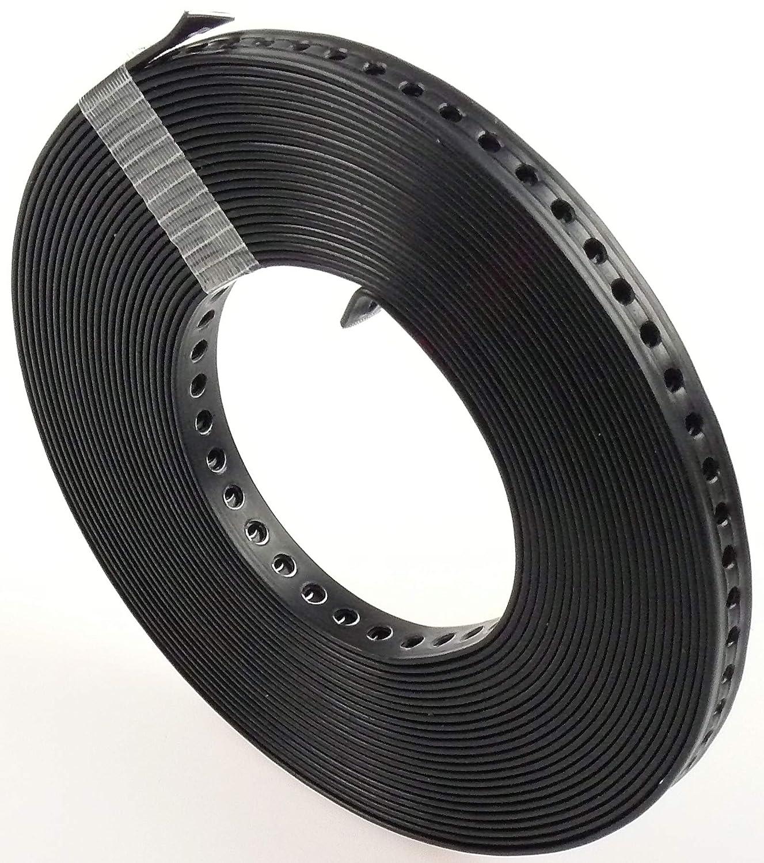 Lochband Montageband verzinkt 12mm 14mm Rolle Box 10m