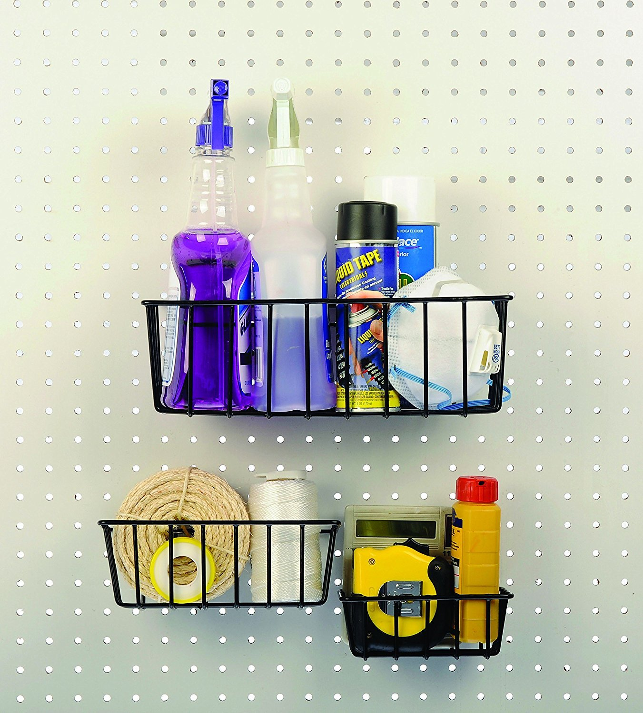 Dorman Hardware 4-9845 Peggable Wire Basket Set, 3-Pack (2 X 3 Pack)