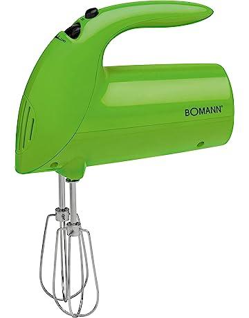 Bomann HM 350 CB - Batidora de varilla especial para repostería, 5 velocidades, 250