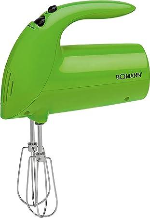 Bomann HM 350 CB Batidora de varilla especial repostería, 5 velocidades, verde, 250 W: Bomann: Amazon.es: Hogar