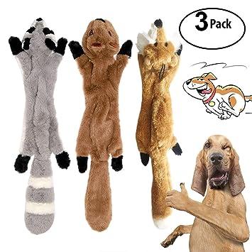 3 paquetes perro stridulo juguetes de Playgirl no farcito juguetes para perros peluche juguetes para perros