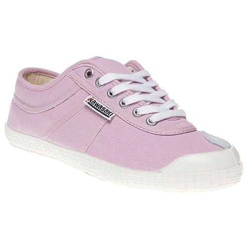 Kawasaki - Zapatillas de lona para mujer rosa rosa, color rosa, talla 35: Amazon.es: Zapatos y complementos