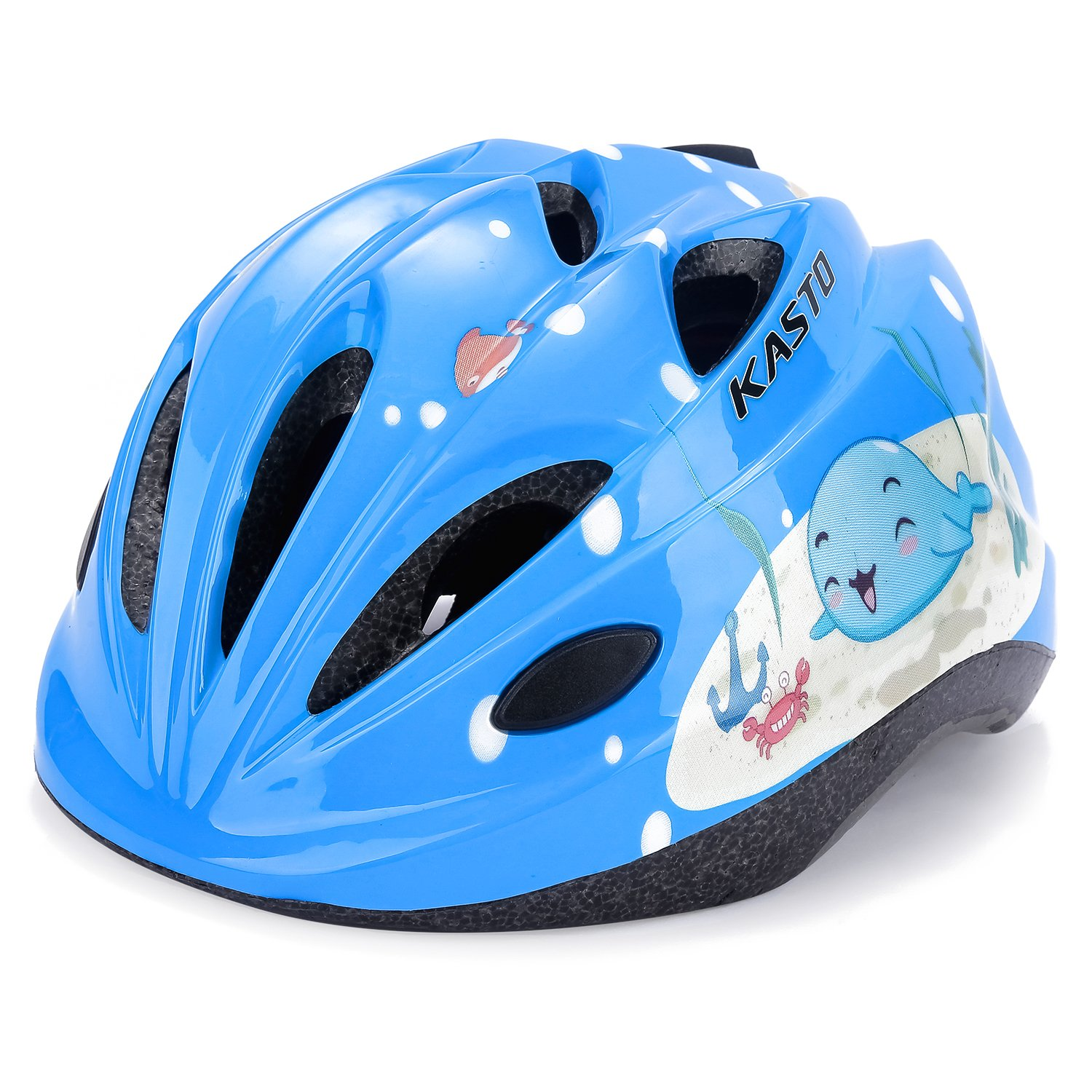 EEDAN Kids Bike Helmet - Sports Protective Gear for Skateboard Scooter Roller Skate Cycling Helmets - Adjustable Comfortable from Toddler,Child,Youth Size with 3 to 10 Years Boys and Girls (Blue)