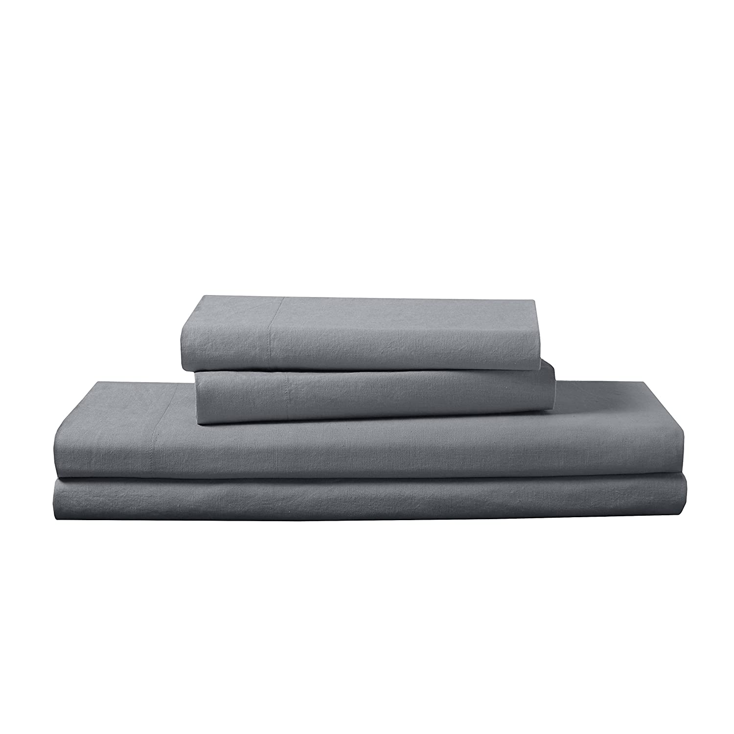 Loft New York FRE651XXGRAY02 Luxury Sheet Set Full Gray Levinsohn Textile Company